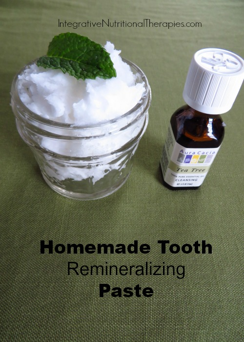 Homemade tooth remineralizing paste2