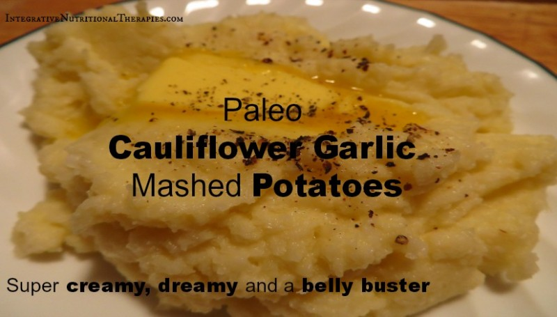 Paleo Cauliflower mashed