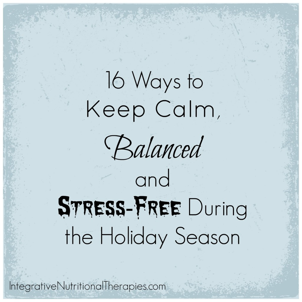 16 ways stress free holiday