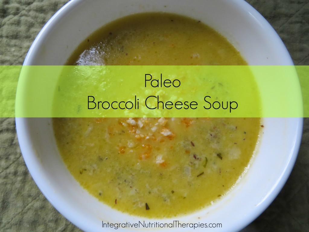 paleo broc cheese soup