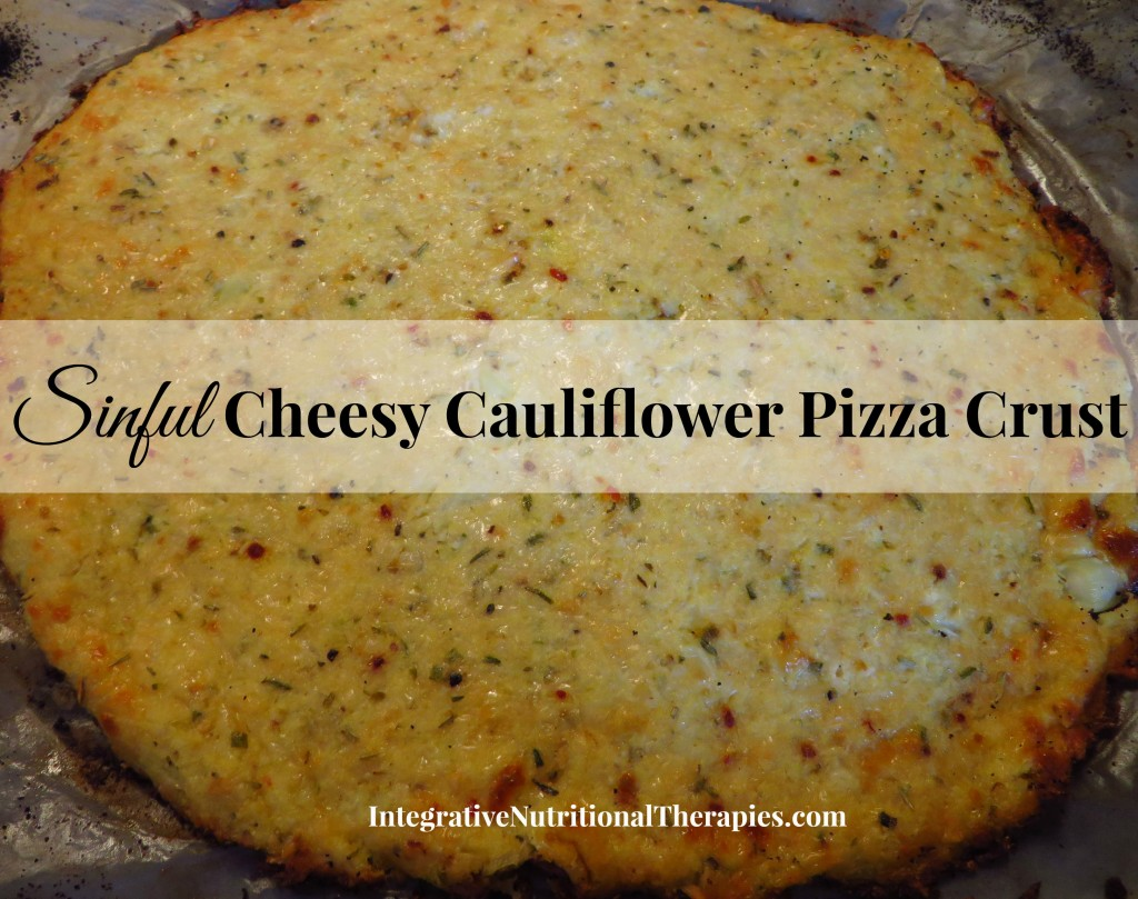 sinful cheesy caul crust