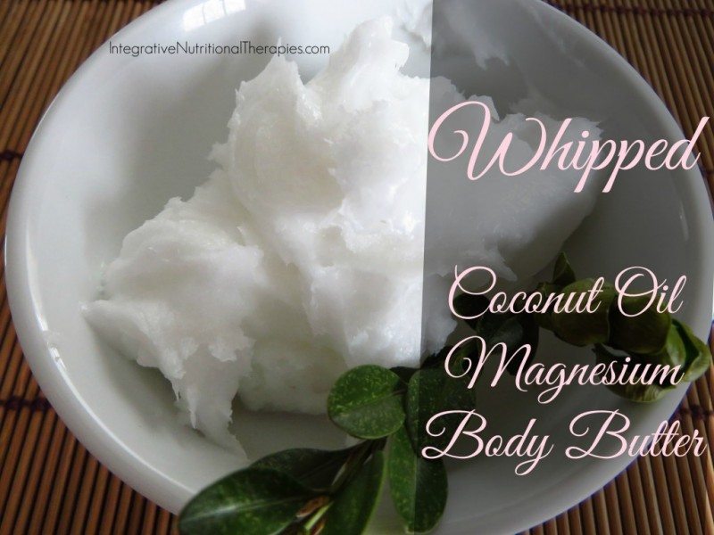 Whipped Coconut Oil Magnesium Body Butter