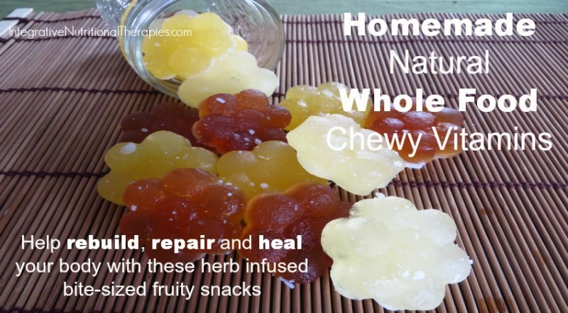 Homemade Natural Whole Food Chewy Vitamins