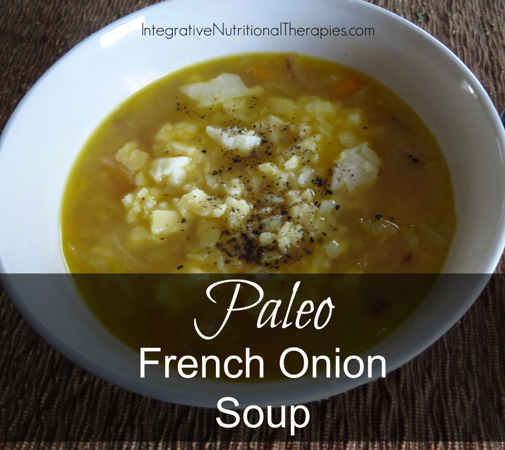 paleo french onion soup