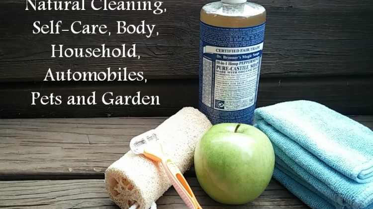 One Product for Natural Cleaning, Self-Care, Body, Household, Automobiles, Pets and Garden