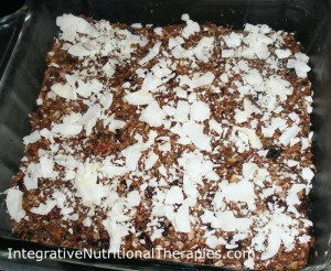 paleo no bake bars