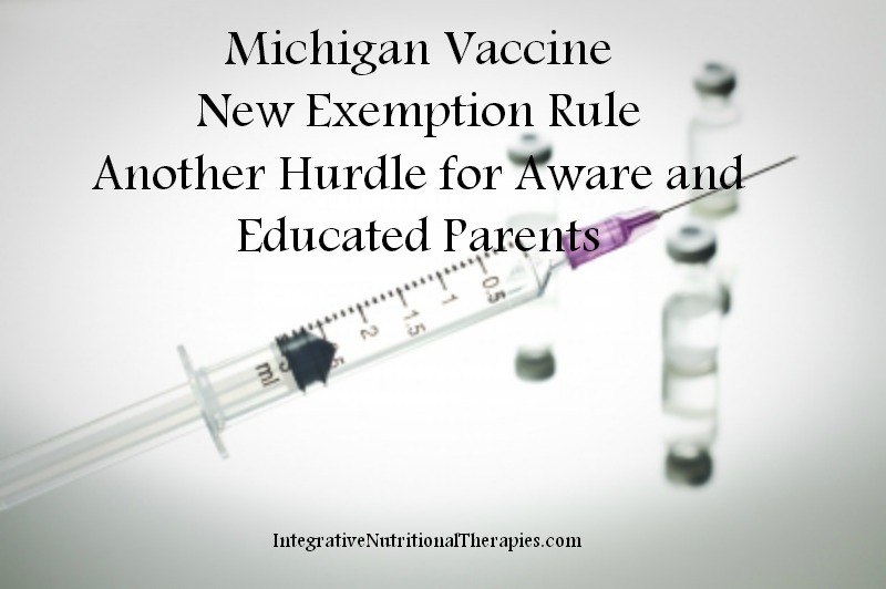 MI Vaccine New Exemption Rule