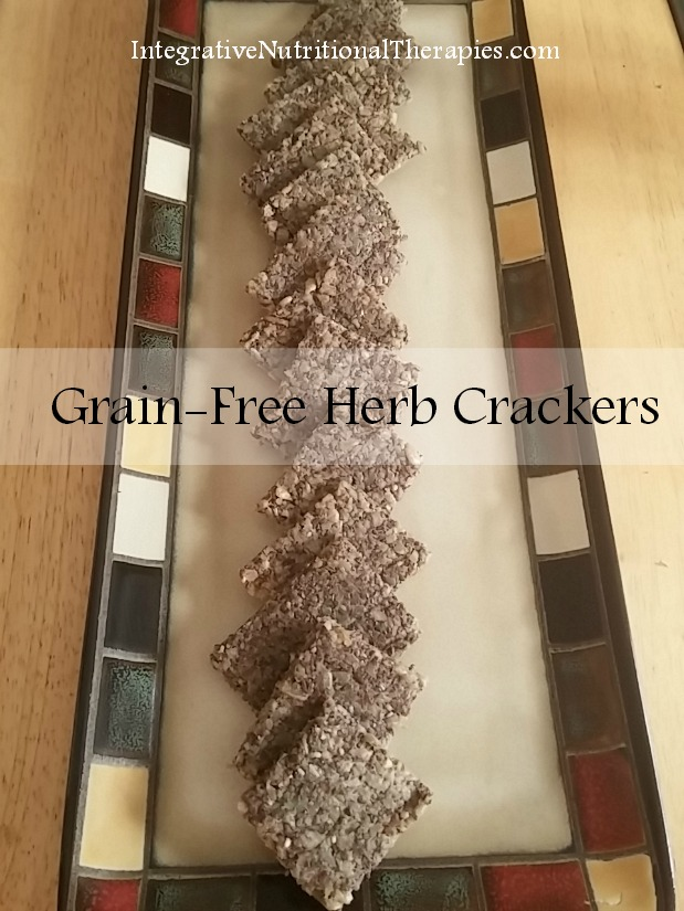 Grain-free Herb Crackers