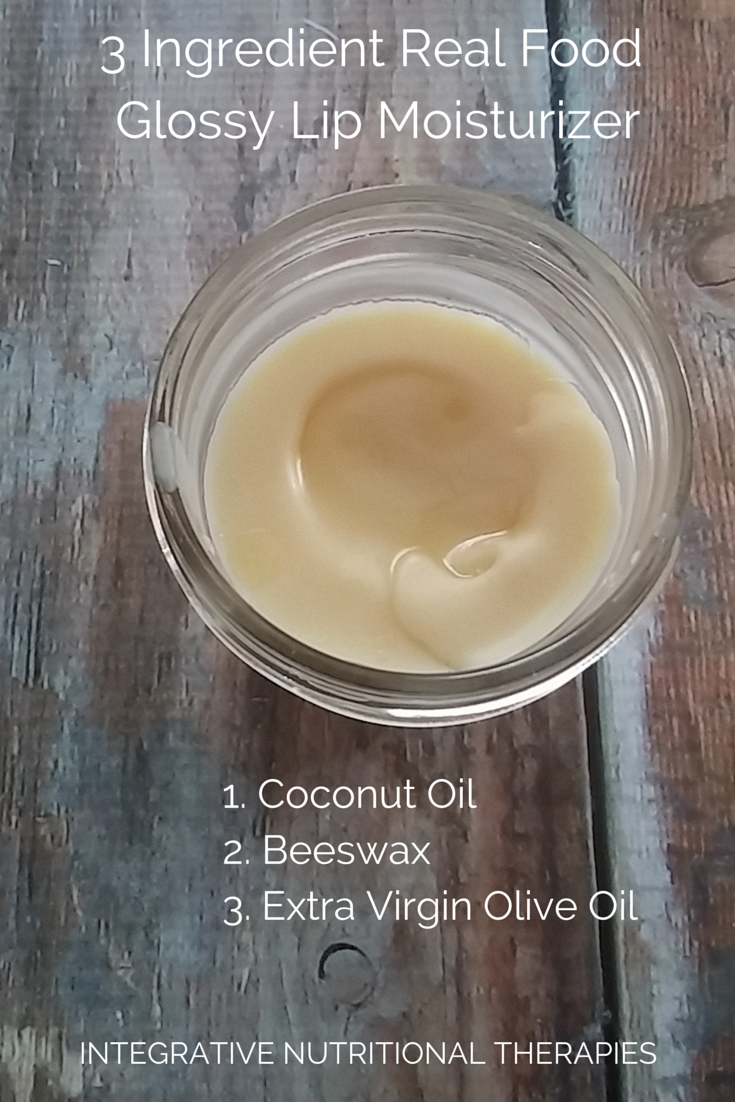 3 Ingredient Real Food Glossy Lip- tall