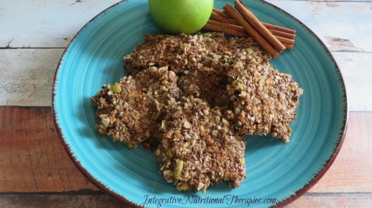Apple Cinnamon Paleo Cookies {Nut Free}
