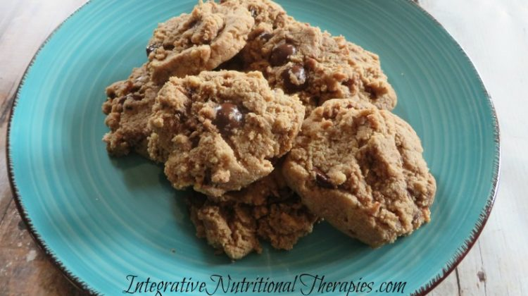 Paleo Chocolate Chip Cookies {Cookie Dough Cookies}